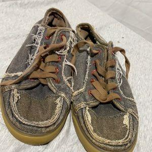 Sanuk Grunge shoes Sz 8